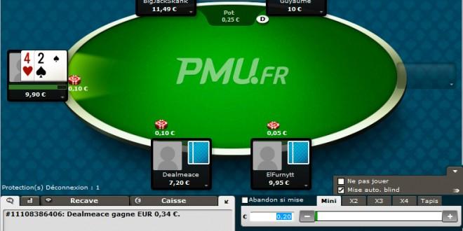 PMU Poker, l'étoile ascendante du poker !!