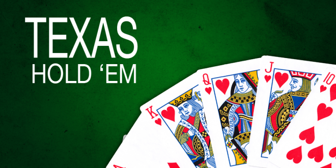 Poker texas hold'em distribution des cartes