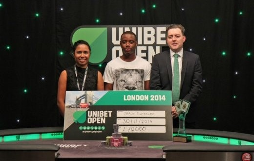 Iaron Lightbourne : Grand vainqueur du tournoi de Londres