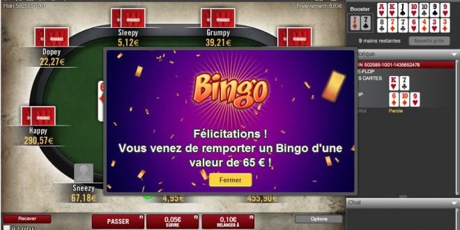 Winamax, le bingo est de retour sur le banc de l'opérateur